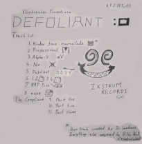 Cover Art for Defoliant