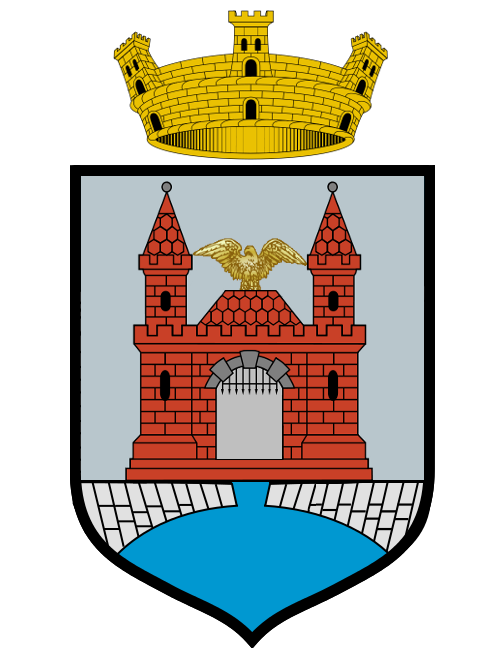 The newly-granted Coat of Arms of the Province of Kremlum Sandus, the capital of the State of Sandus.