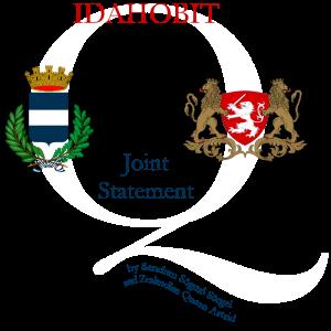 IDAHOBIT Joint Statement