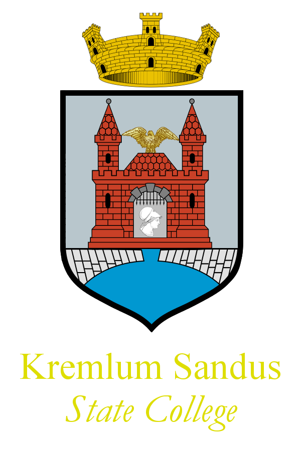 The logo of Kremlum Sandus State College, the issuing institution of Civilae and Socilivae certificates.