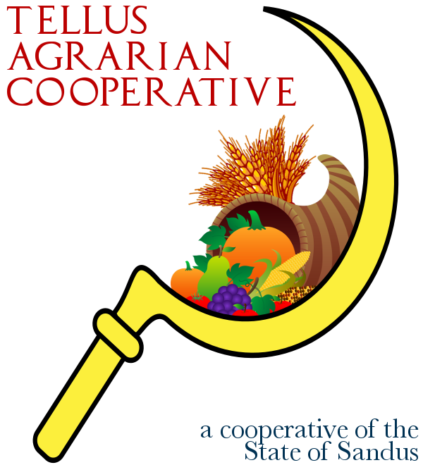 The logo of Tellus Agrarian Cooperative