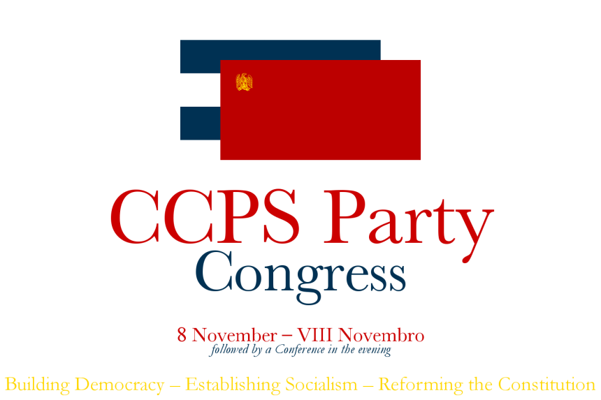 CCPS Party Congress 8Nov2014