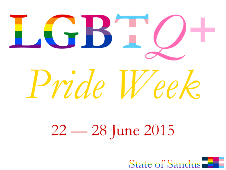 LGBT Pride Week 2015 (English)